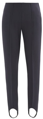 Bogner Elaine Stretch-jersey Slim-leg Stirrup Trousers - Navy