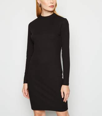 New Look Long Sleeve Mini Bodycon Dress