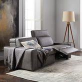 "west elm Enzo Leather Reclining Sofa (76"")"