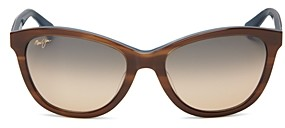 Maui Jim Women's Canna Polarized Cat Eye Sunglasses, 54mm