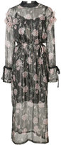 Mother of Pearl Rosemary metallic dress - women - Silk/Lurex/Polyester - 14