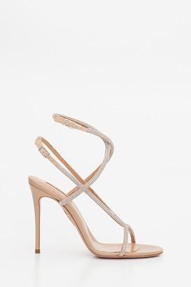Aquazzura Moondust Sandals With Stiletto Heels