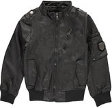 "Urban Republic Big Boys' ""Faux-Leather Mode"" Jacket"