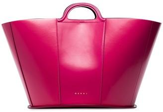 Marni Patent-Leather Tote Bag