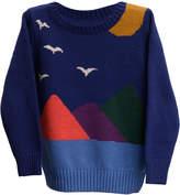 MIO Mi & O Printed Knit Sweater