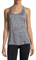 Reebok Heathered Racerback Tank Top