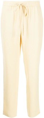 RED Valentino High-Rise Cropped Track Pants