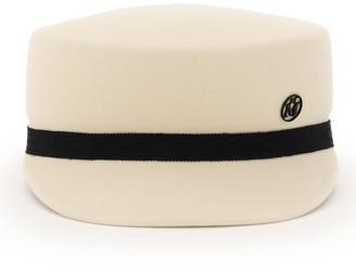 Maison Michel Abby Bow-Detaild Sailor Cap