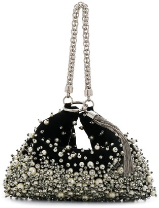 Jimmy Choo Callie embellished clutch