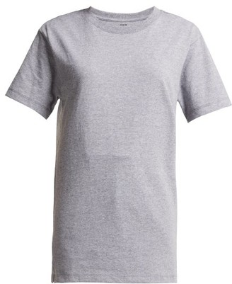 Hanes X Karla - The Classic Cotton Jersey T Shirt - Womens - Grey