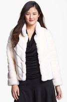 Faux Rabbit Fur Jacket (Regular & Petite)