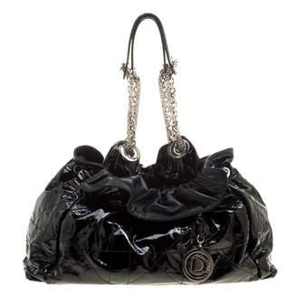 Christian Dior Black Patent leather Handbags