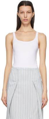 Wolford White Shimmer Jamaika String Bodysuit