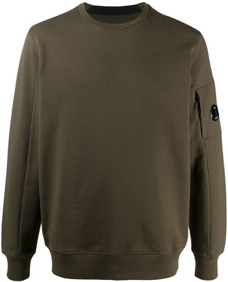 C.P. Company Logo-Patch Crew Neck Sweatshirt