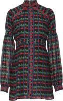 Anna Sui Cherries Silk Cotton Dress