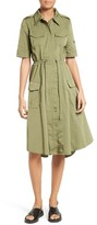 Tracy Reese Women's Tech Taffeta Shirtdress