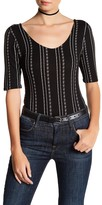 Lush 3/4 Sleeve Bodysuit