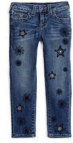 True Religion Casey Skinny Embroidered Toddler/Little Kids Jean