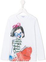 Simonetta stylish girl print T-shirt