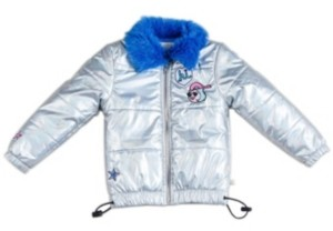 Kinderkind Toddler, Little, and Big Girls Parka with Faux Fur Collar