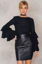 BLK DNM Leather Skirt 12