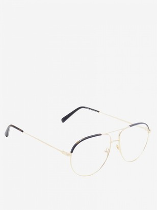 Stella McCartney Sunglasses In Metal And Acetate With Double Bridge