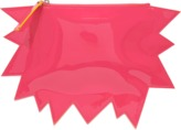 Christopher Kane Patent Cracked Clutch