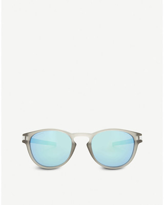 Oakley Latch oval-frame sunglasses