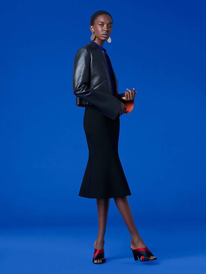 Diane von Furstenberg Tailored Front Zip Jacket
