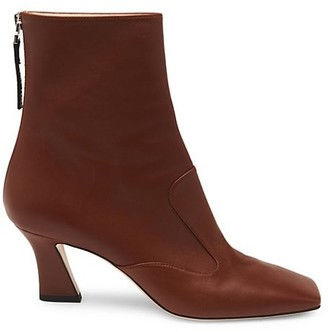 Fendi FFreedom Leather Ankle Boots