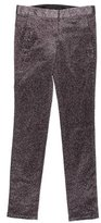 Alexander Wang Metallic Skinny Pants
