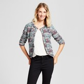 ISANI for Target Women's Striped Paisley Quilted Bomber Jacket