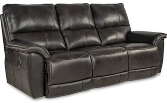 "La Z Boy Norris Reclining 87"" Pillow Top Arms Sofa La-Z-Boy Reclining Type: Manual"