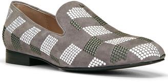 Donald J Pliner Lyle Embellished Suede Loafer