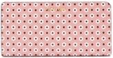Miu Miu Floral-print zip-around leather wallet