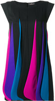 Capucci layered colour dress - women - Silk/Polyester/Spandex/Elastane/Virgin Wool - 40