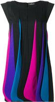 Capucci layered colour dress - women - Silk/Polyester/Spandex/Elastane/Virgin Wool - 42