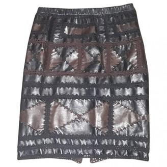 Tod's Multicolour Leather Skirt for Women