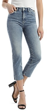 Mavi Jeans Niki Vintage Cropped Skinny Jeans in Indigo Blue