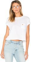 Mother T Time Crop Pocket Shirt