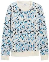 Wesc Men's Jima Animal Print Sweatshirt