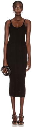 The Range Braided Midi Dress in Black | FWRD