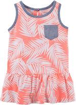 Carter's Sleeveless Palm Peplum Top - Toddler Girls 2t-5t
