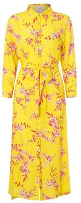 Charlotte Sparre Shirt Dress Iben Yellow - XS