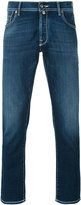 Jacob Cohen contrast stitch denim jeans - men - Cotton/Polyester/Spandex/Elastane/Viscose - 33
