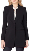 Tahari ASL Bi-Stretch Elongated Blazer