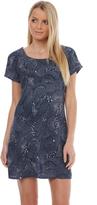 Volcom Star Lite Tee Dress Blue