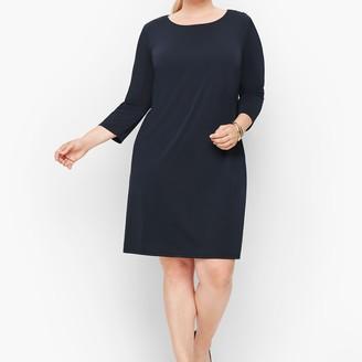 Talbots Knit Jersey Shift Dress