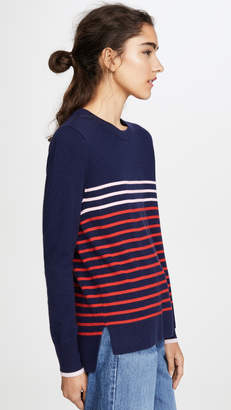 South Parade Stripe Cashmere Sweater