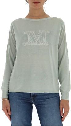 Max Mara Logo Jacquard Knitted Jumper